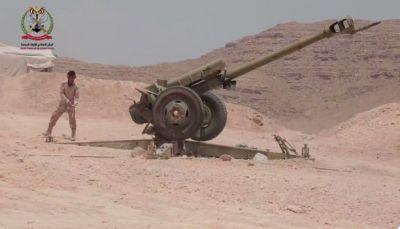 """قائد عسكري: جبهة """"نهم"""" تحولت الى مقبرة تبتلع المليشيا الحوثية"""