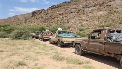 تسّيير قافلة دعم لأبطال الجيش في قانية وإسقاط مسيّرة حوثية في صرواح