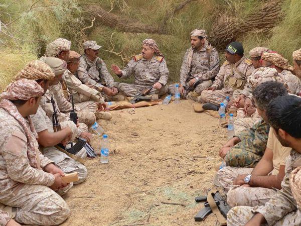 خلال زيارة تفقدية لأبطال الجيش.. الوزير المقدشي: دفنا مخططات مليشيا الإرهاب وداعمتها الإيرانية